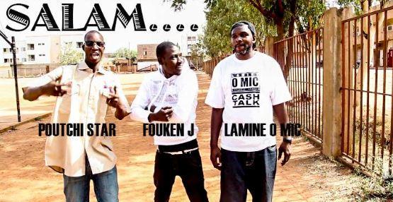 LAMINE O MIC Feat. FOUKEN J & POUTCHI STAR - SALAM (CLIP)