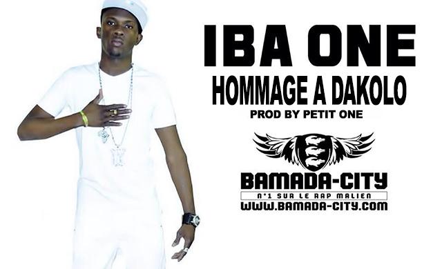 IBA ONE - HOMMAGE A DAKOLO (SON)