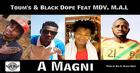 TOUM'S FEAT. BLACK DOPE MDV & M.A.L PROD BY BLACK DOPE