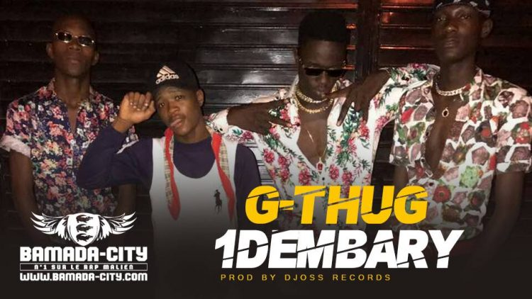 G-THUG - 1DEMBARY Prod by DJOSS RECORDS