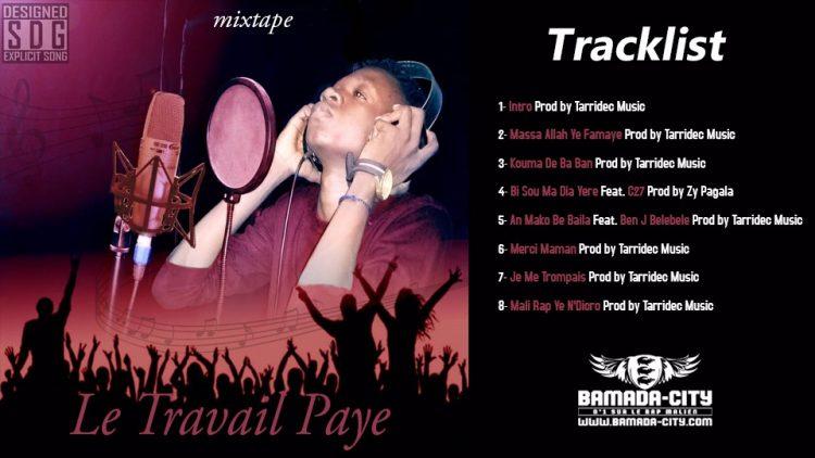MINEDJI - MALI RAP YE N'DIORO 7ème extrait de la mixtape LE TRAVAIL PAYE Prod by TARRIDEC MUSIC