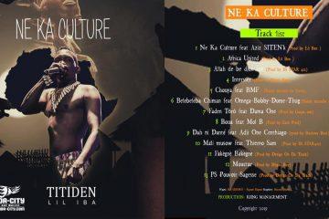 TITIDEN LIL IBA - NE KA CULTURE (Album)