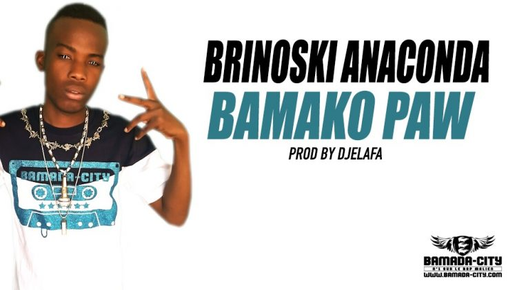 BRINOSKI ANACONDA - BAMAKO PAW - PROD BY DJELAFA