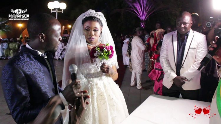 DJELIKA DIABATÉ LA SOEUR DE SIDIKI DIABATÉ (MARIAGE)