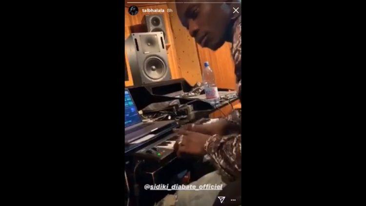 En direct du studio D MUSIC, Tal B et Sidiki Diabate pour un nouveau single (Vidéo)