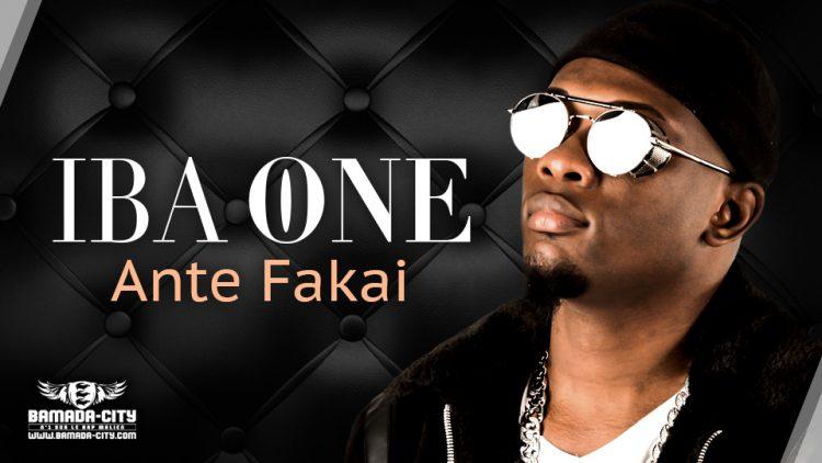 IBA ONE - ANTE FAKAI