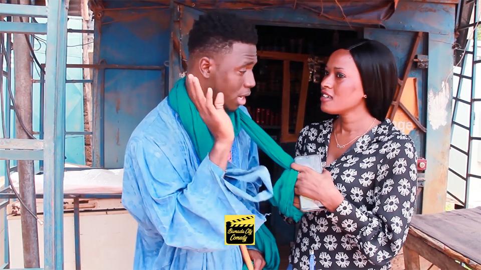MAIGA le boutiquier KA MUSSO KÔ (Vidéo Comédie)