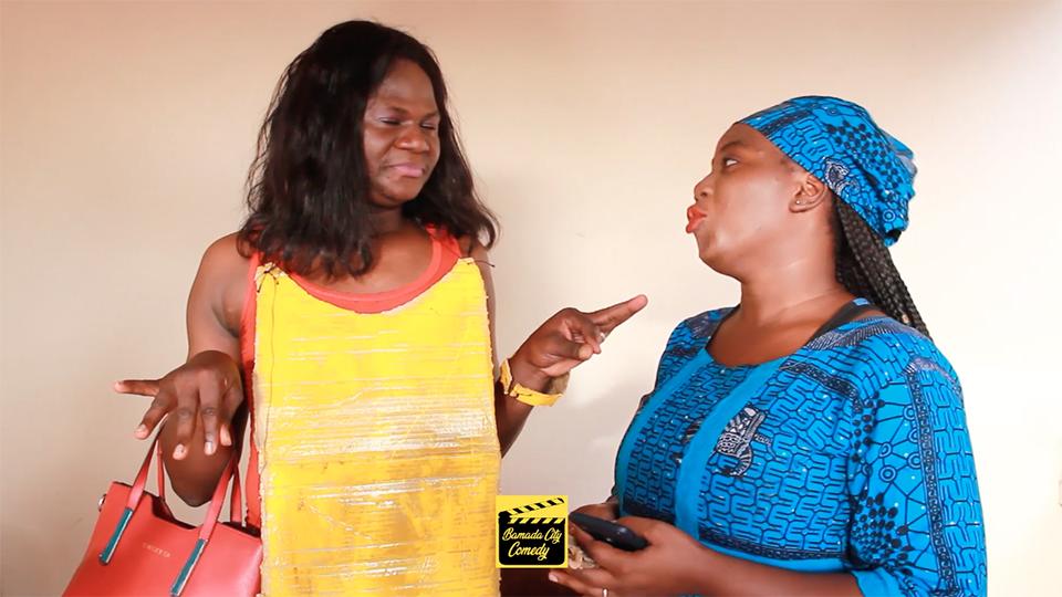 QUINZE SORA vs LE FOU KANE (BAMAKO SANOU KÔ) (Vidéo Comédie)