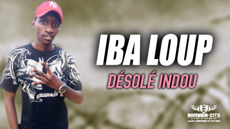 IBA LOUP - DÉSOLÉ INDOU - Prod by MOULBY PROD