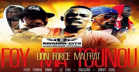 LION FORCE FEAT FRAINE BABA, LE FOU, SALAZAR & DANI COOL - FOY MA TOUNOU - PROD BY LIVISO