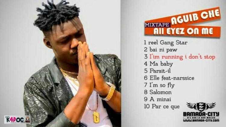 AGUIB CHE - I'M RUNNING I DON'T STOP 3ème extrait de la mixtape ALL EYEZ ON ME Prod by DJIGUI BOY