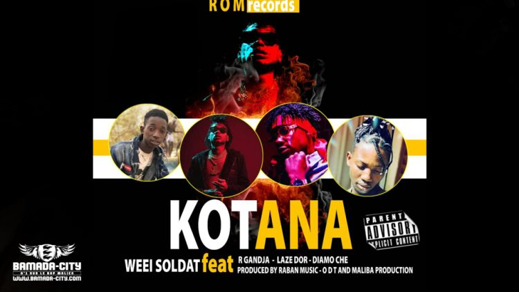 WEEI SOLDAT Feat. R GANDJA - LAZE DOR & DIAMO CHE - KOTANA Prod by RABAN MUSIC - ODT & MALIBA PRODUCTION