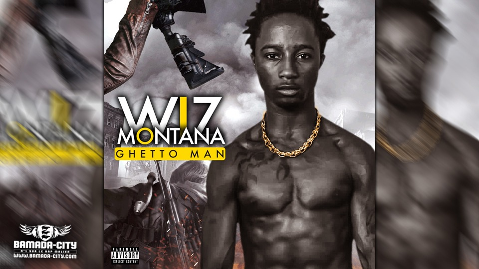 WIZ MONTANA - GHETTO MAN - Prod by VISKO ON THE BEATZ